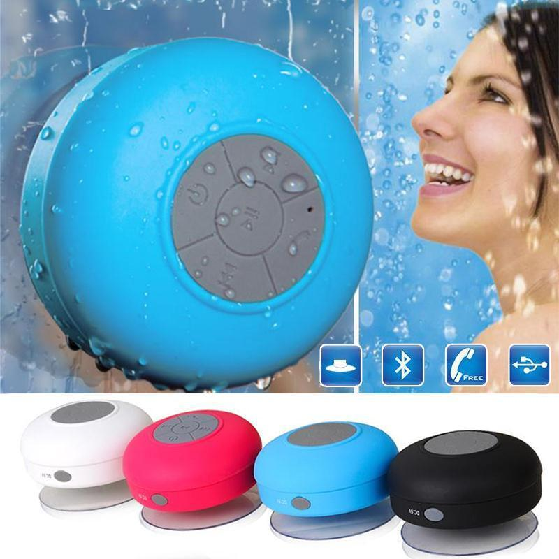 Mini haut-parleur bluetooth pour salle de bain/imperméable