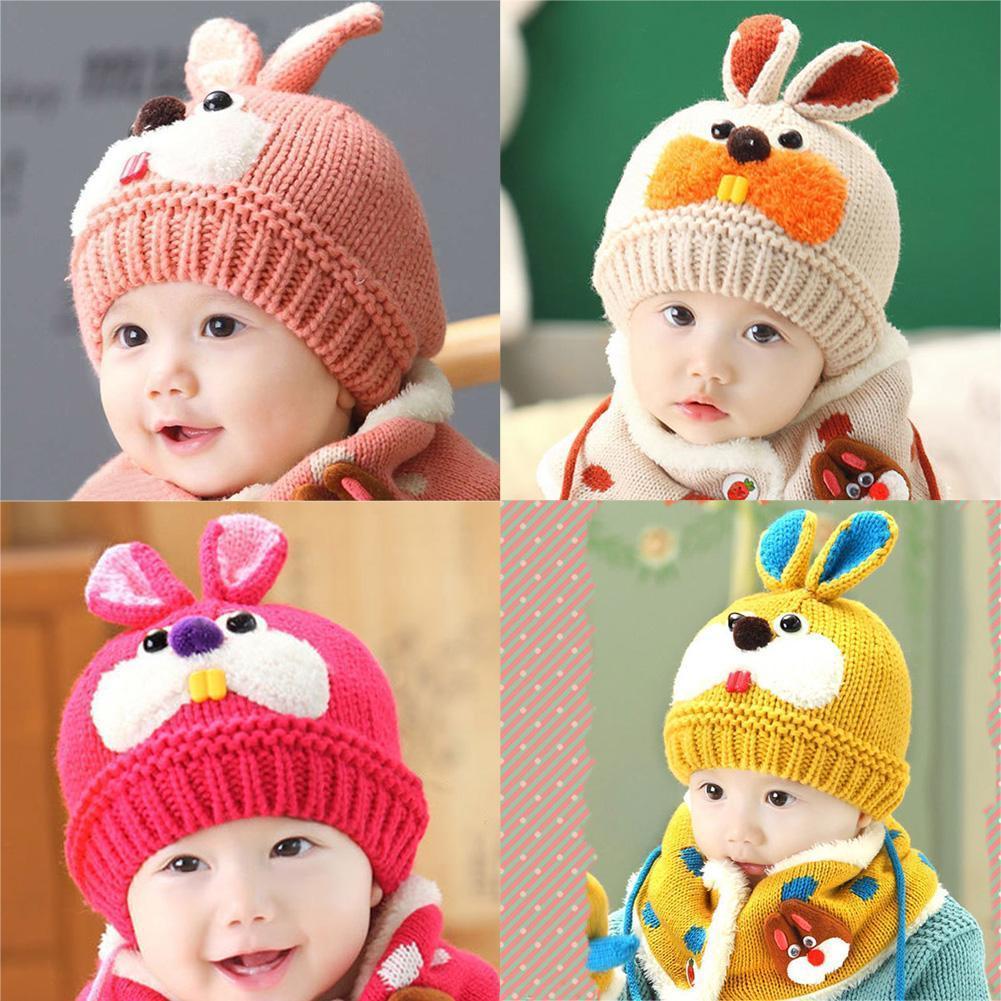 BabyBunny™ 2 en 1 Bonnet et écharpe de Bébé