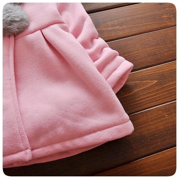 CapeliCute™ Manteau à capuche pour filles