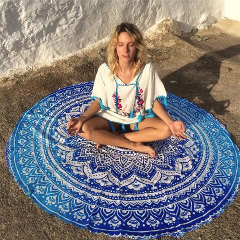 Tapis de yoga / serviette de plage