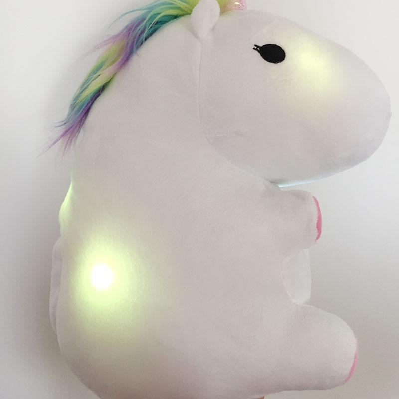 Peluche Licorne lumineuse