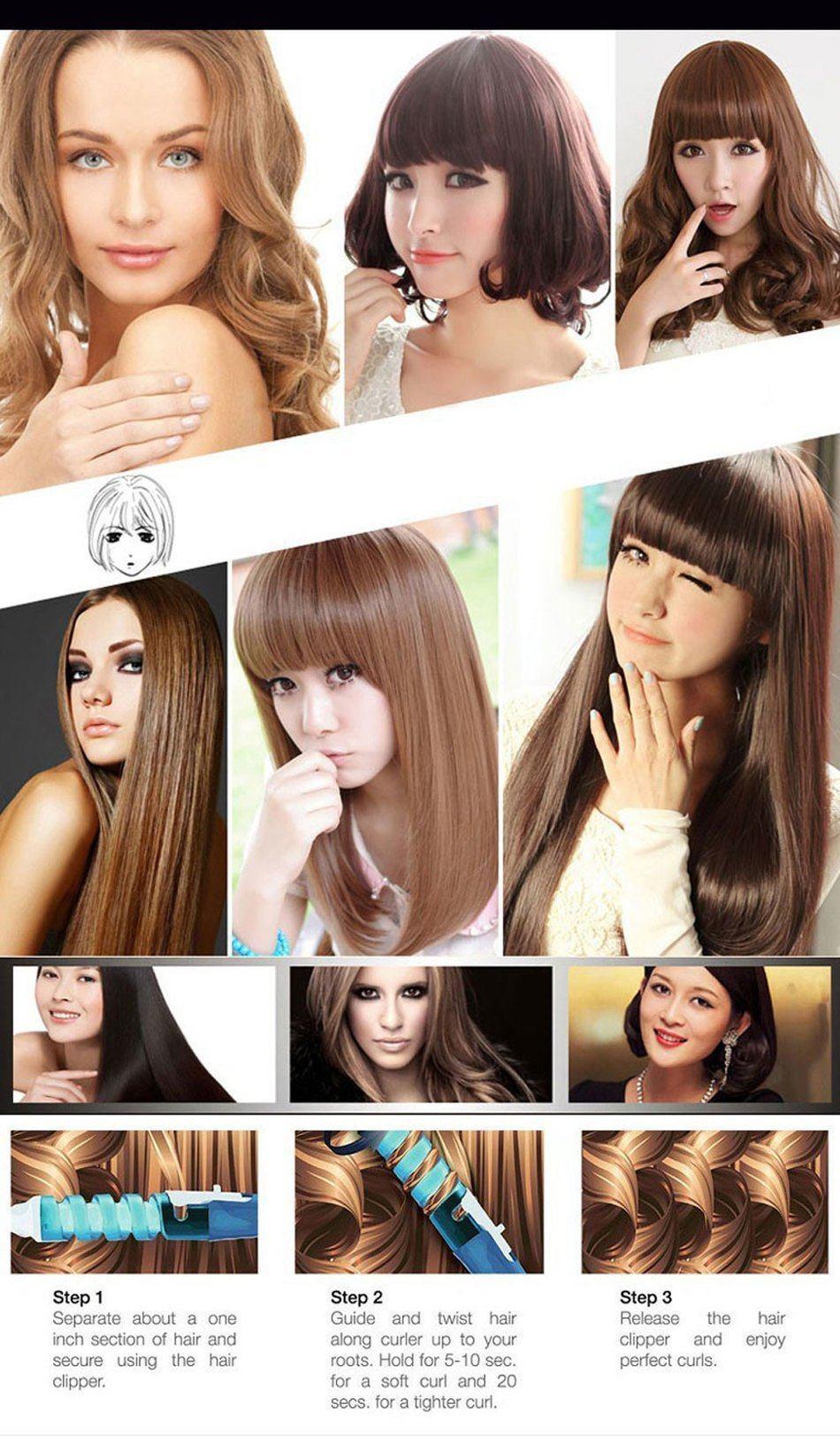 Boucleur cheveux Professionnel