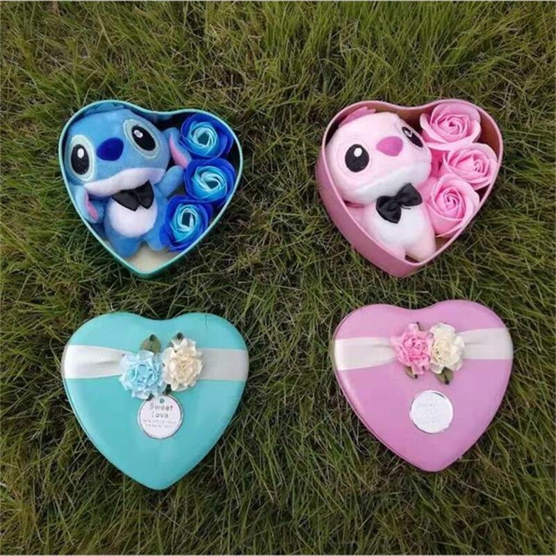 Joli Coffret Cadeau Stitch Amoureux