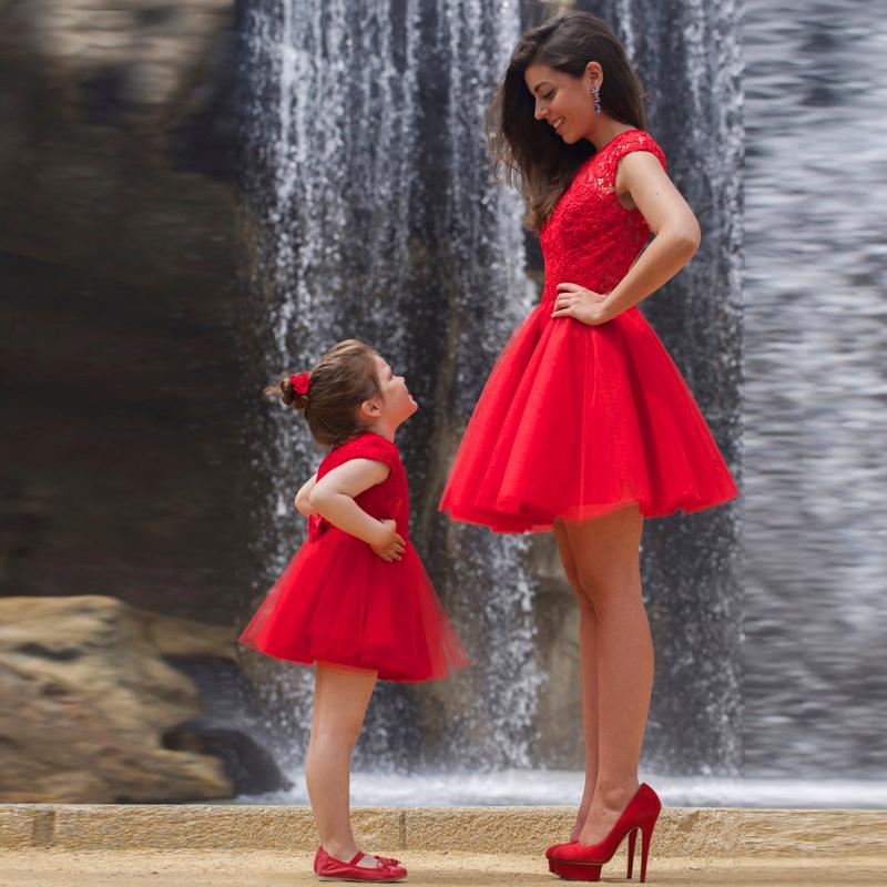 Robe de fête mère & fille