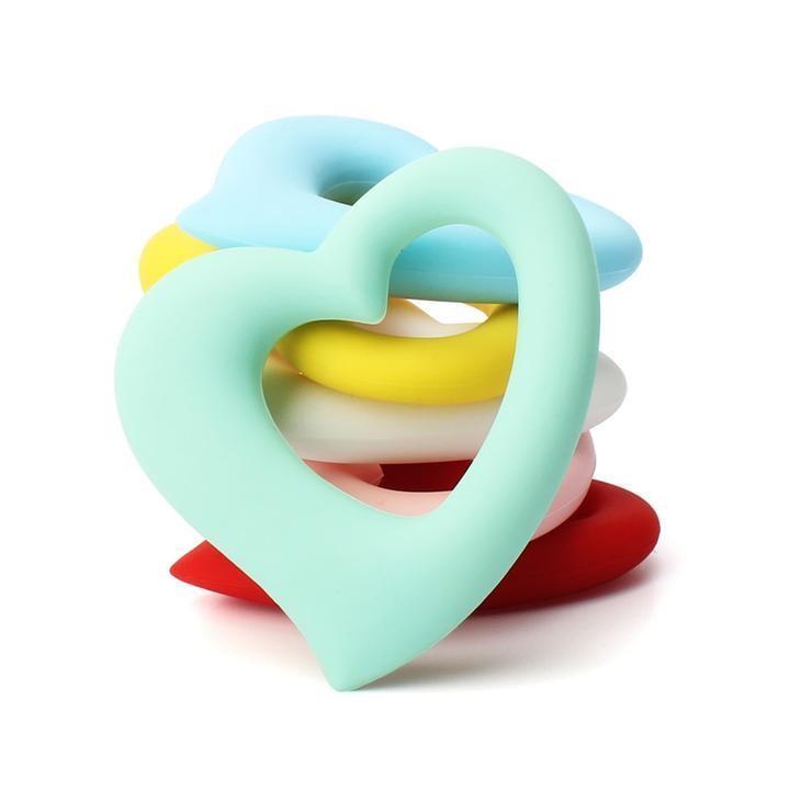 Anneau de Dentition cœur