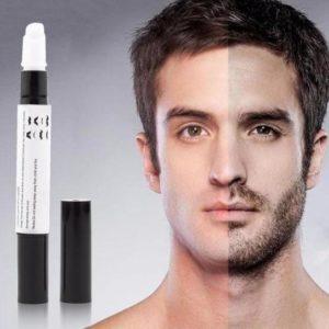 Stylo de croissance de la barbe