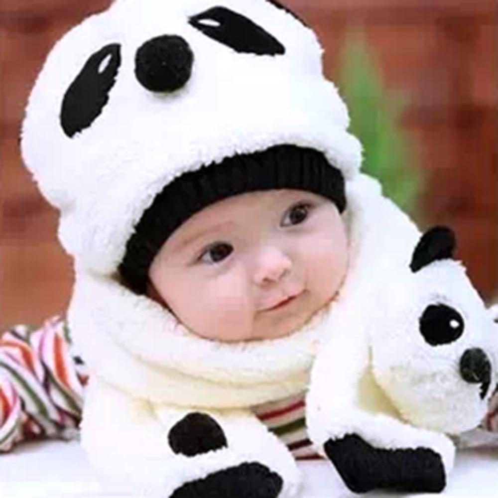 Bonnet & Écharpe Panda