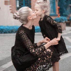 Magnifique Robe Mère & Fille